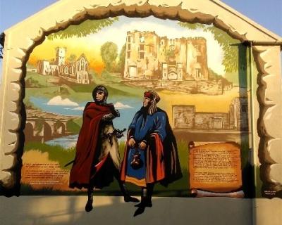 Buttevant Medieval Heritage Mural