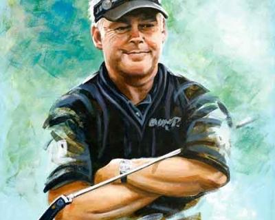 Darren Clarke Portrait