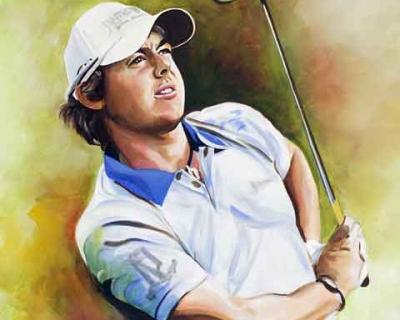 Rory McIlroy Portrait