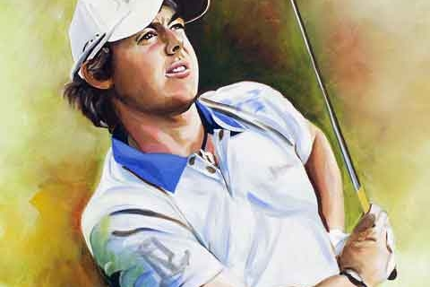 Rory McIlroy – Limited Edition Print