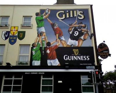 Gill's Famous Pub near Croke Park