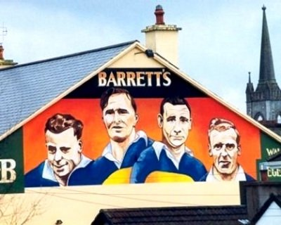 Tipperary Hurling Greats, Barrett's Pub, Thurles