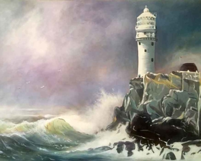 Fastnet Rock & Lighthouse