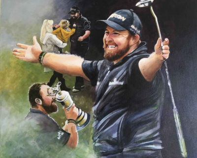 Shane Lowry – Champion (Limited Edition Print)