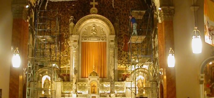 St.Vincent De Paul Church, Boston.