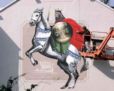 Brian Boru Mural