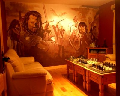 Lord of the Rings Chess Room