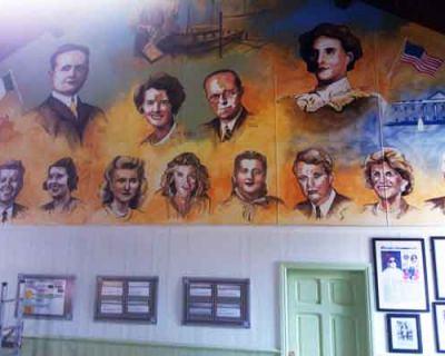 JFK Family Mural, Fitzgerald Centre, Bruff