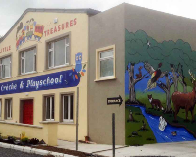 Little Treasures Creche & Playschool Mural