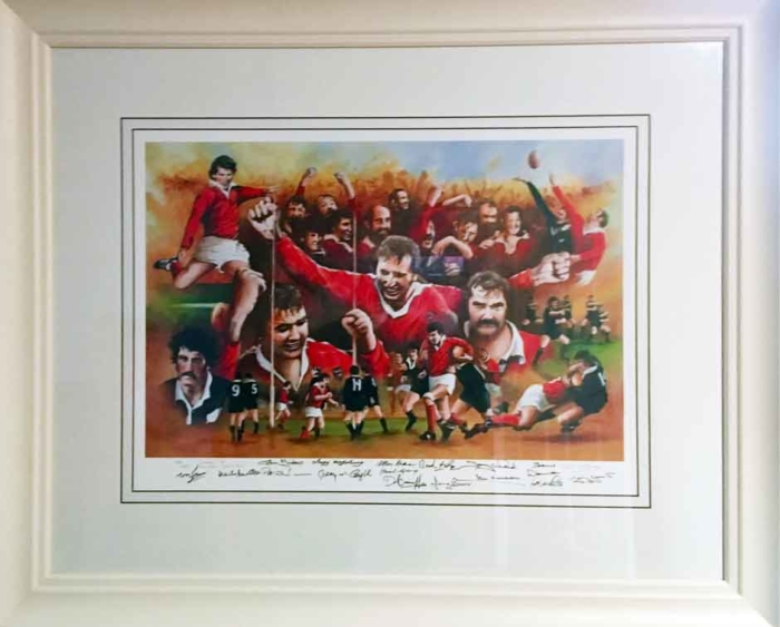 Munster defeat All Blacks 1978